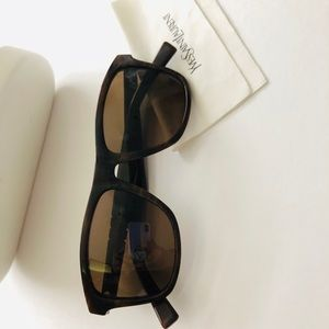 Yves Saint Laurent Brown Wayfarers